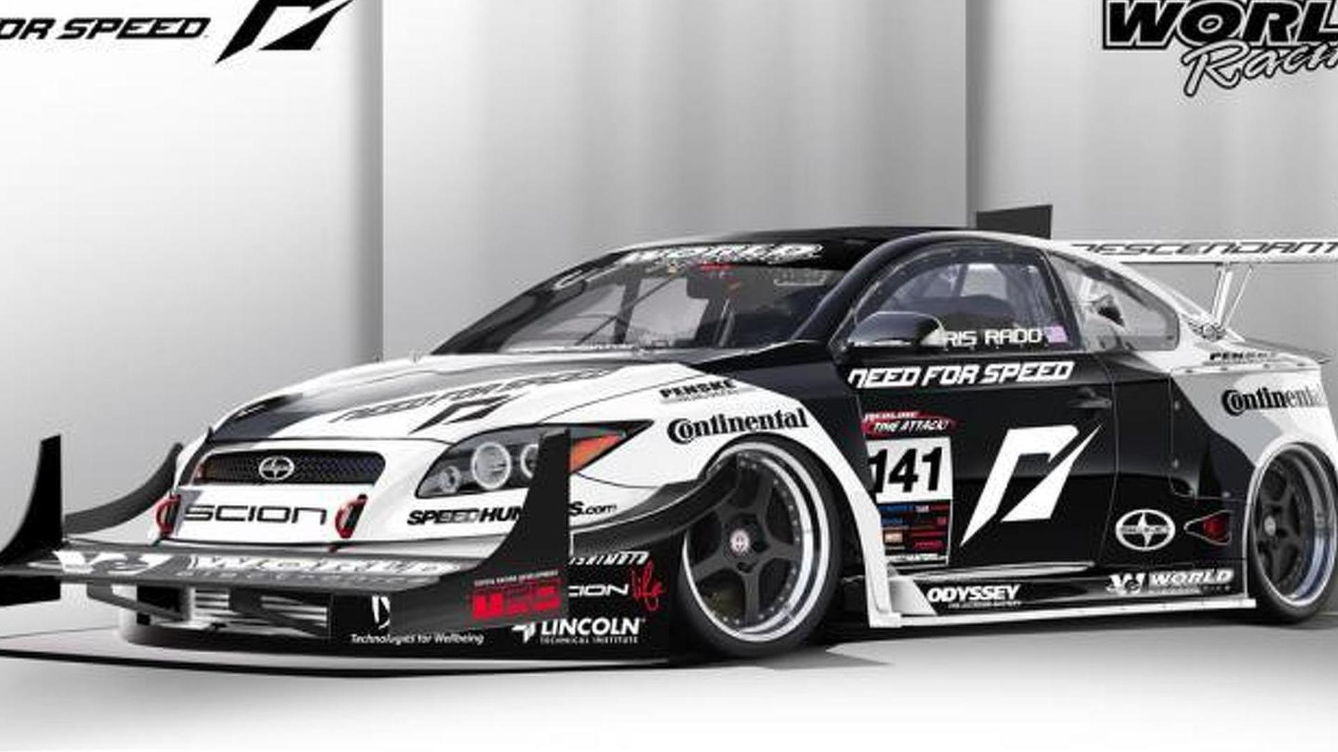 1100hp scion tc awd racer by team nfs first pics. Black Bedroom Furniture Sets. Home Design Ideas