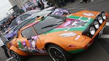 Lancia Stratos turned into manga car
