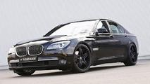 BMW 7 Series with Hamann wheels