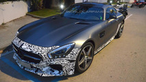 2015 Mercedes-AMG GT Edition 1 spied with fixed rear wing
