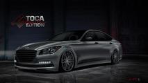 Hyundai Genesis by Toca Marketing for SEMA