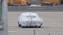 Mercedes autonomous driving concept spy photo