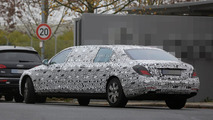 Mercedes-Maybach S-Class Pullman set for 2015 Geneva Motor Show reveal