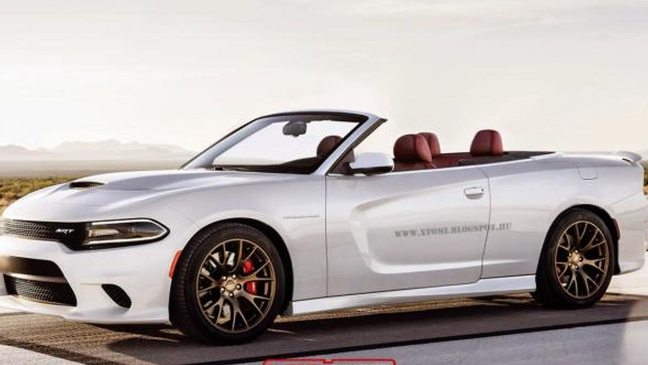 Dodge Charger SRT Hellcat Convertible rendering / X-Tomi