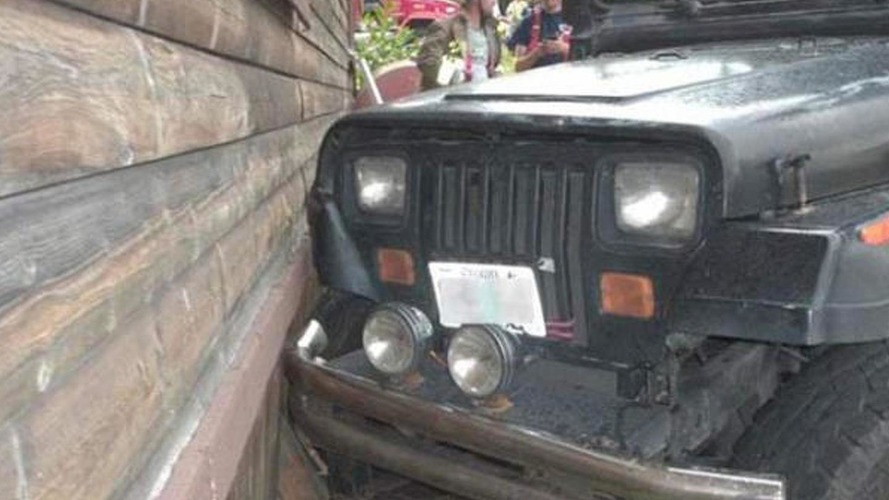 3-year-old boy crashes Jeep Wrangler in USA