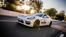 Porsche Panamera with Martini Racing livery