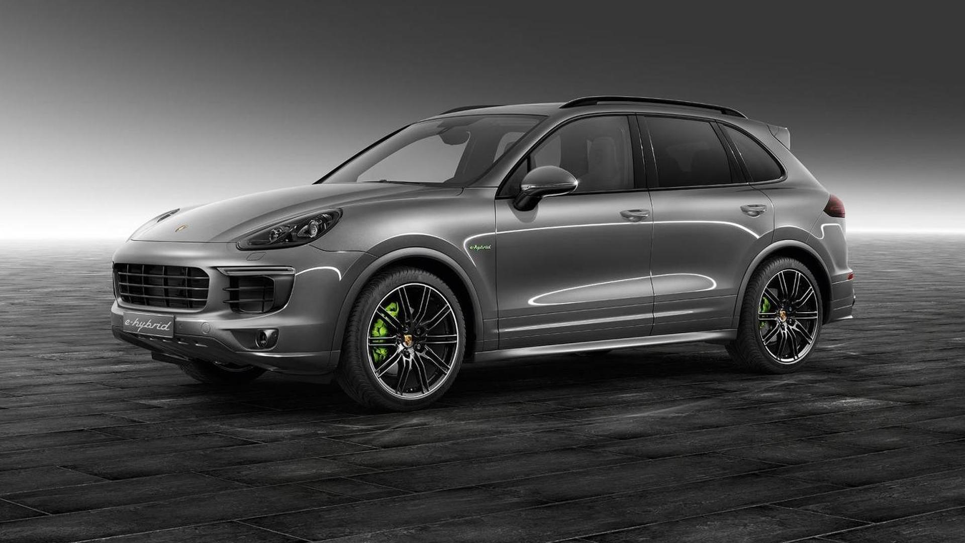 Porsche Cayenne S E-Hybrid от Porsche Exclusive