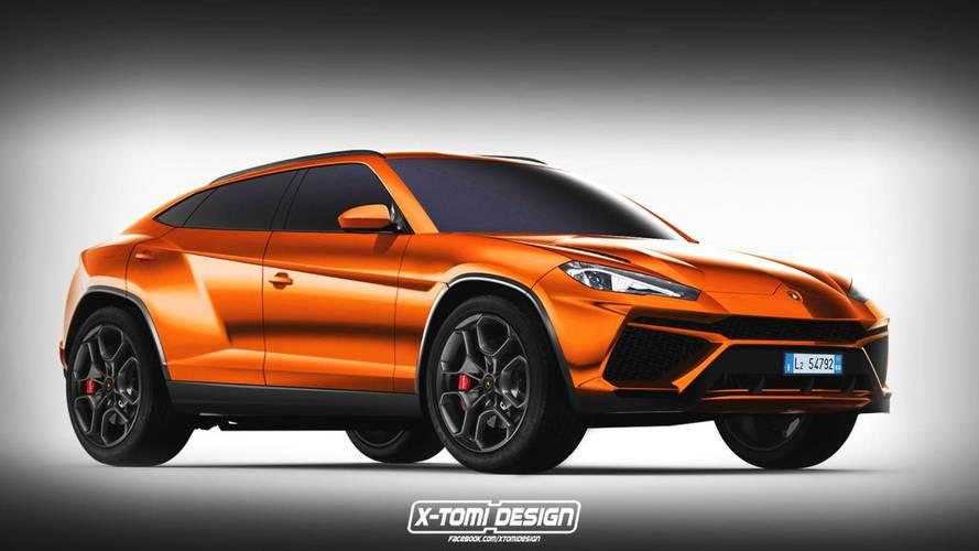 Itt az eddigi legjobb kép a Lamborghini Urus várható kinézetéről