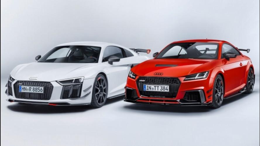 Audi Sport Performance Parts, come migliorare le TT e R8