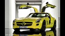 Mercedes-Benz SLS AMG E-Cell
