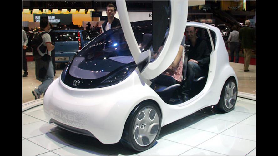 Tata Pixel: Stylisches Stadtauto für Europa