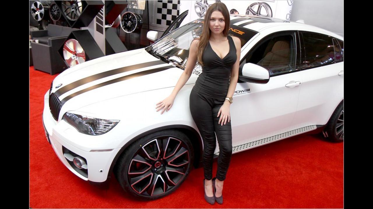 Ein ganz schönes Gerät – der BMW X6 natürlich