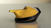 Renault Formula 1 Yellow Teapot