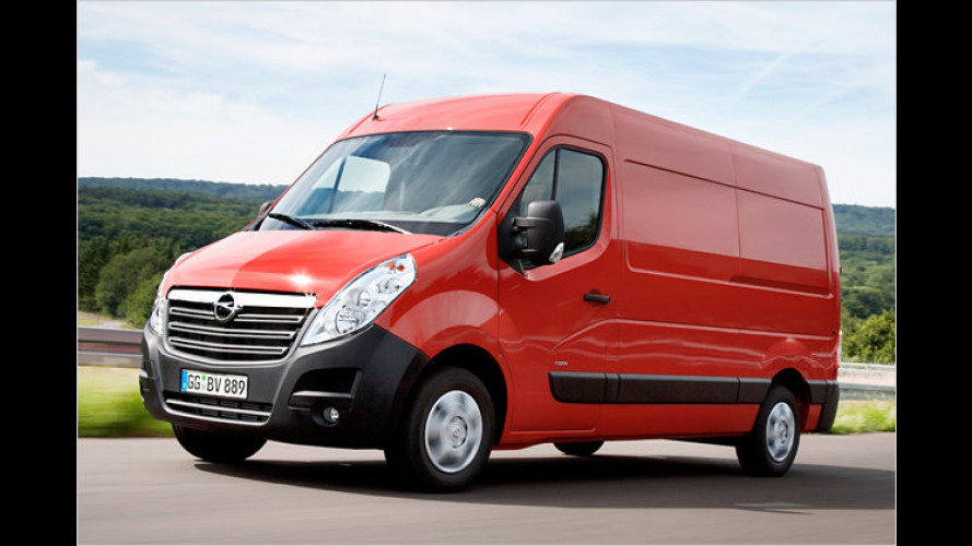 Neuer Opel Movano: Lademeister für alle Lagen