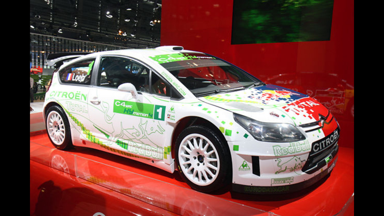 Citroën C4 WRC HYmotion4