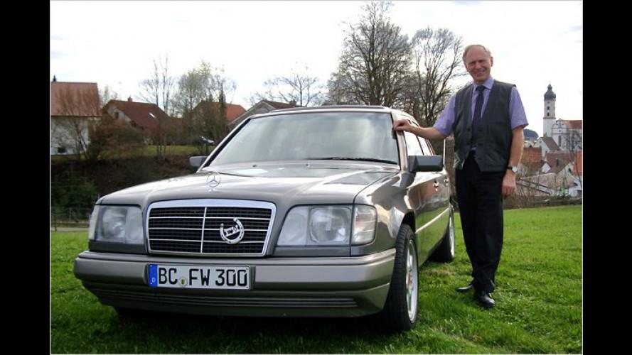 Bankleiter wird Kilometer-Millionär mit einem Mercedes E 300