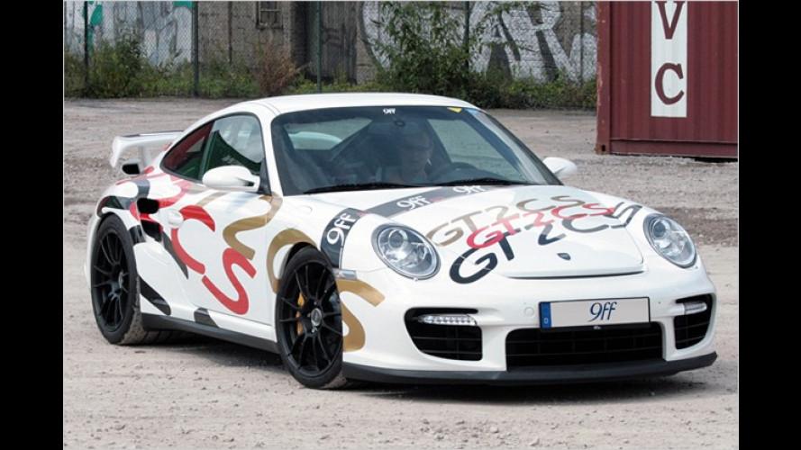 Boliden-Tuning: 9ff macht den Porsche GT2 noch schneller