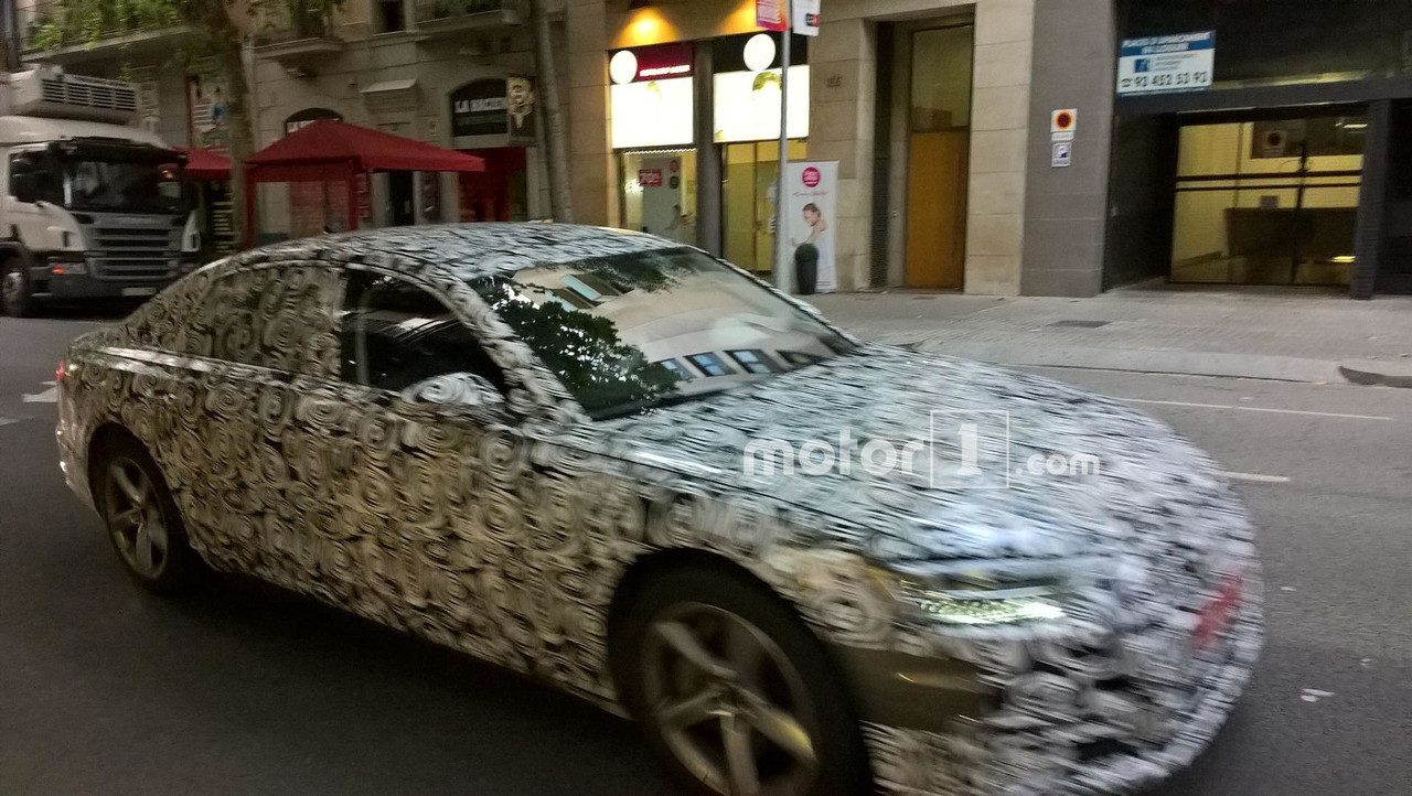 Audi A6 Barselona casus fotoğrafları