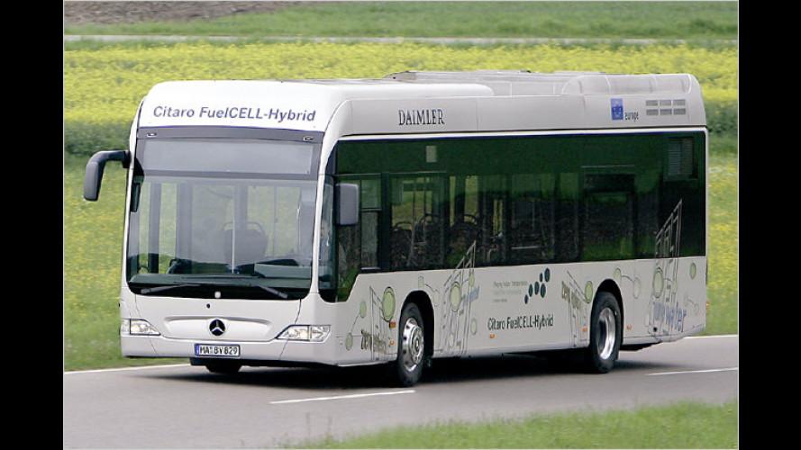 Brennstoffzellen-Bus: Mercedes Citaro FuelCell Hybrid