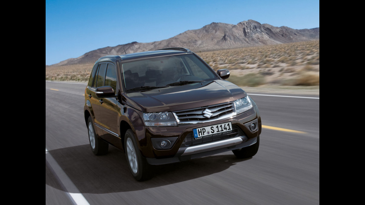 Suzuki Grand Vitara restyling