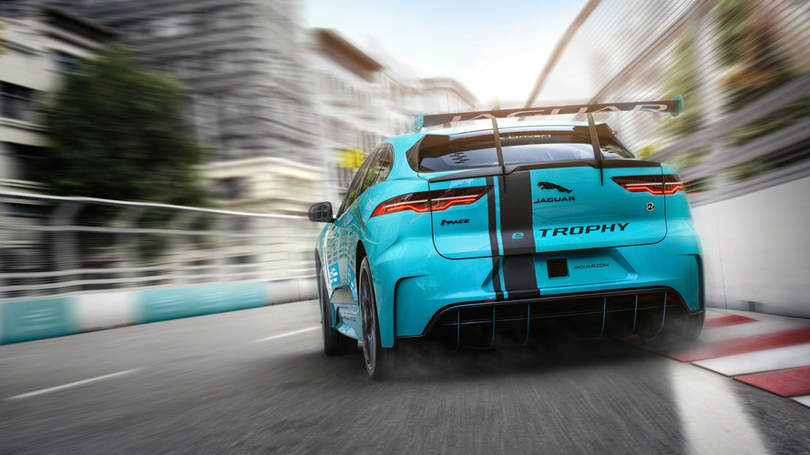 Jaguar I-Pace race series to support Formula E