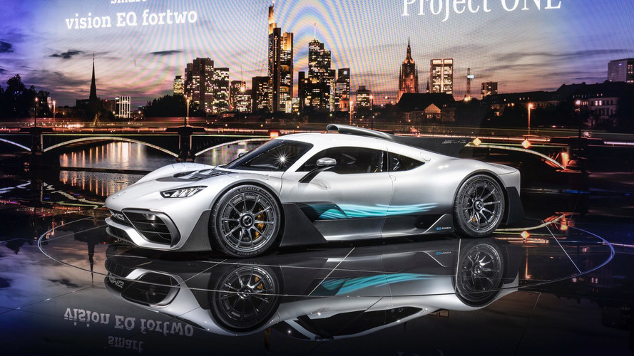 Mercedes-AMG Project One To Have 1,000 HP