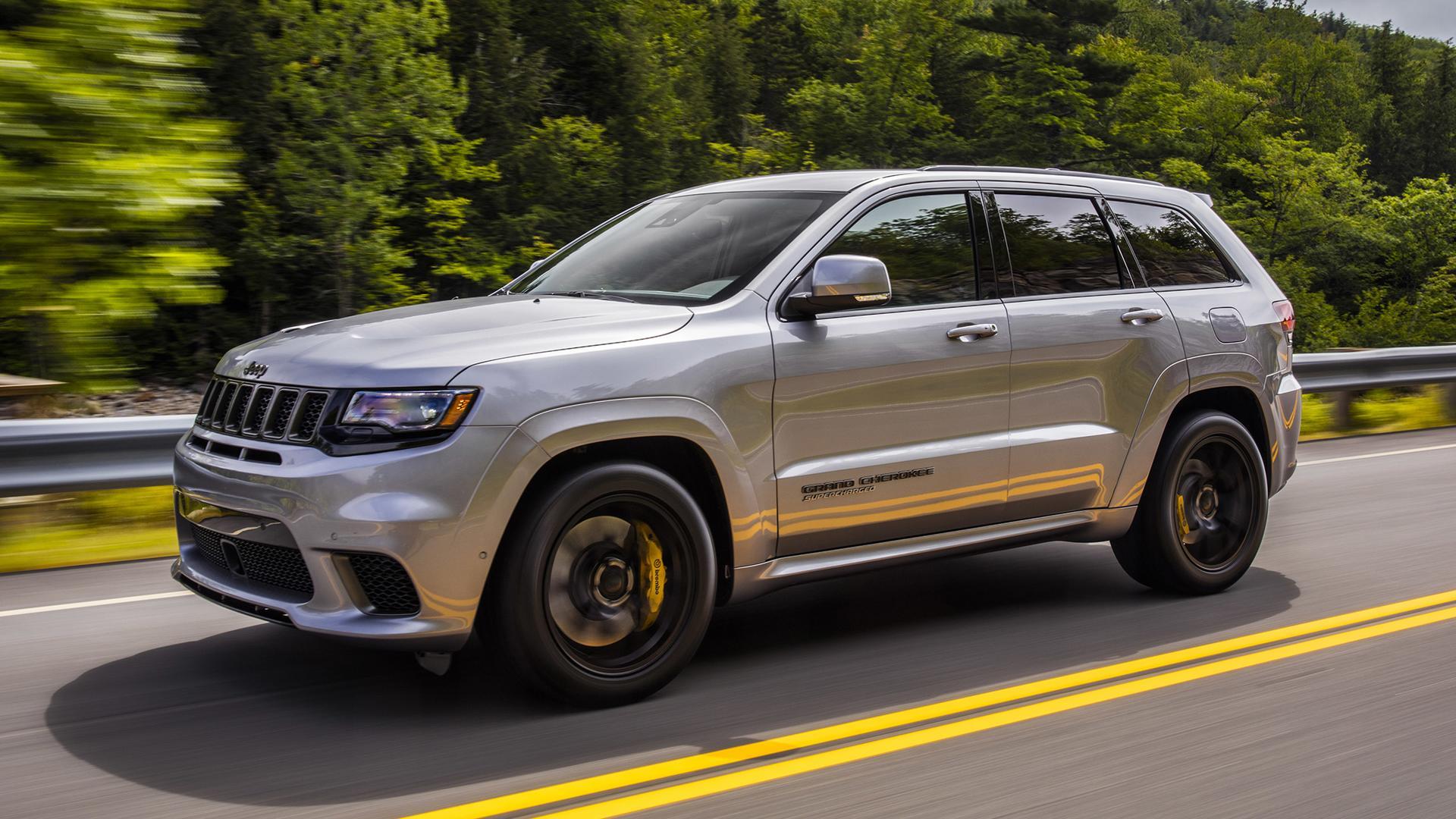 2018 Jeep Grand Cherokee Trackhawk Hellcat >> 2018 Jeep Grand Cherokee Trackhawk First Drive Hellcat All The Things