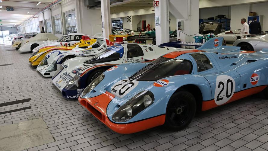Reportage - Dans les réserves du Musée Porsche
