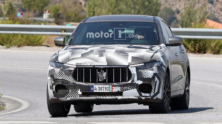 Maserati Levante GTS Photos espion