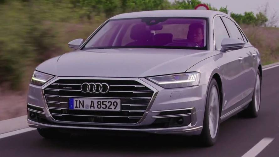 Audi Puts The Spotlight On The A8 With New Videos
