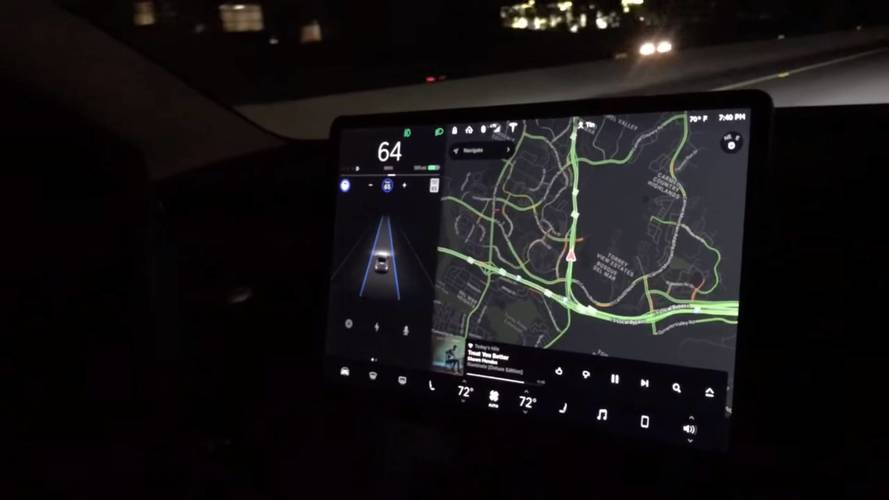 First Extended Look At Tesla Model 3 On Autopilot