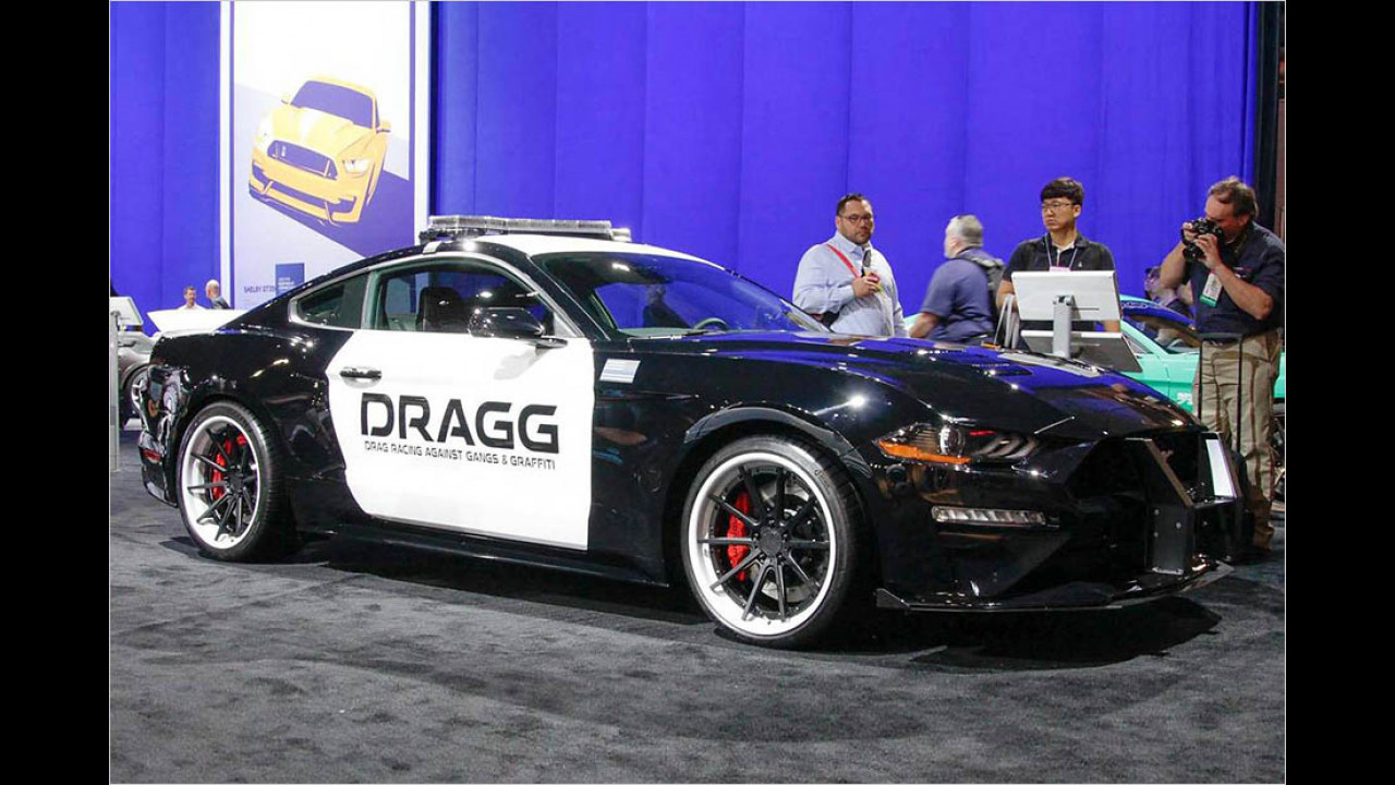 DRAGG Ford Mustang Fastback