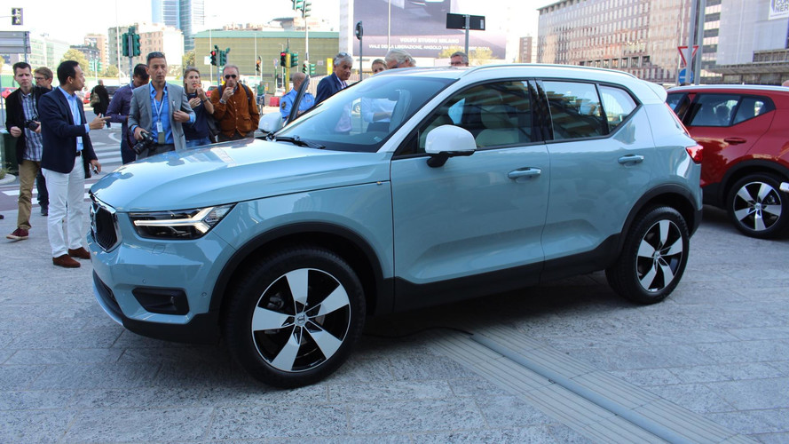 2018 Volvo XC40 Takes Aim At Compact SUVs And How People Buy Them