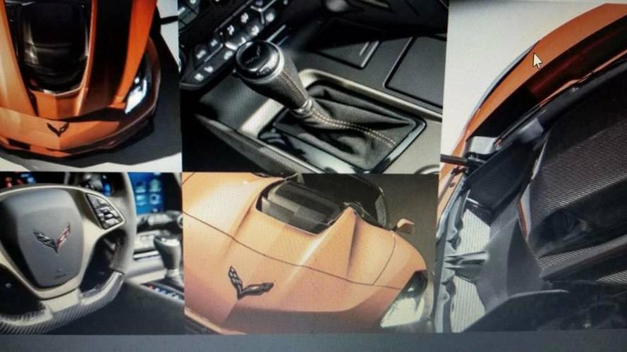 Leaked - Chevrolet Corvette ZR1 out ahead of Dubai introduction