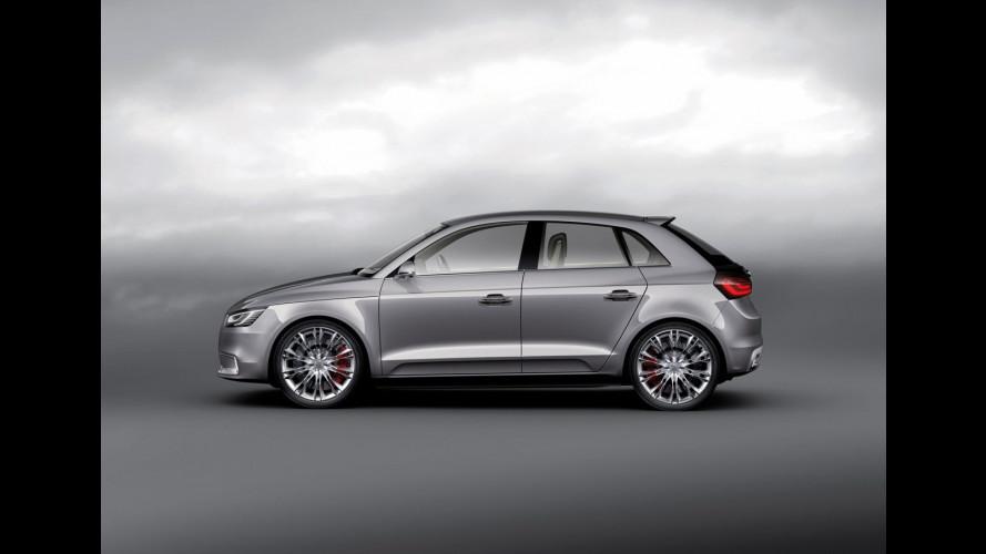 L'Audi A1 sarà un