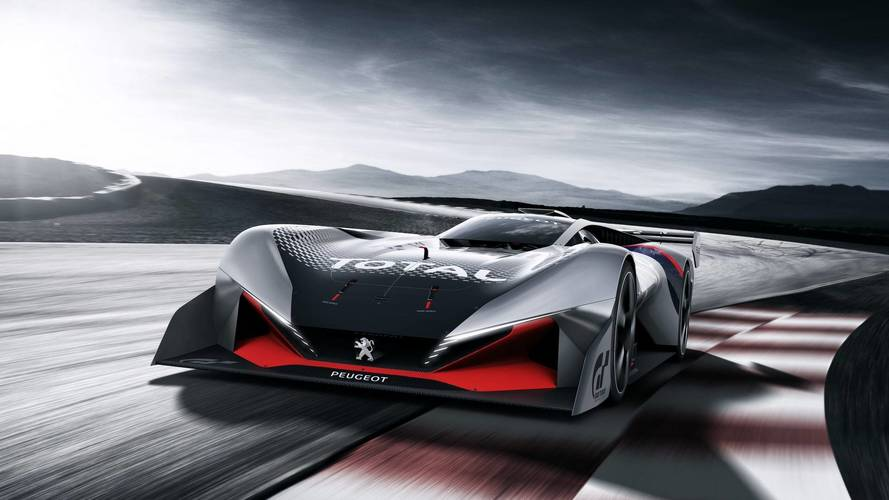 PEUGEOT L 750 R HYbrid Vision Gran Turismo: nevében az ereje