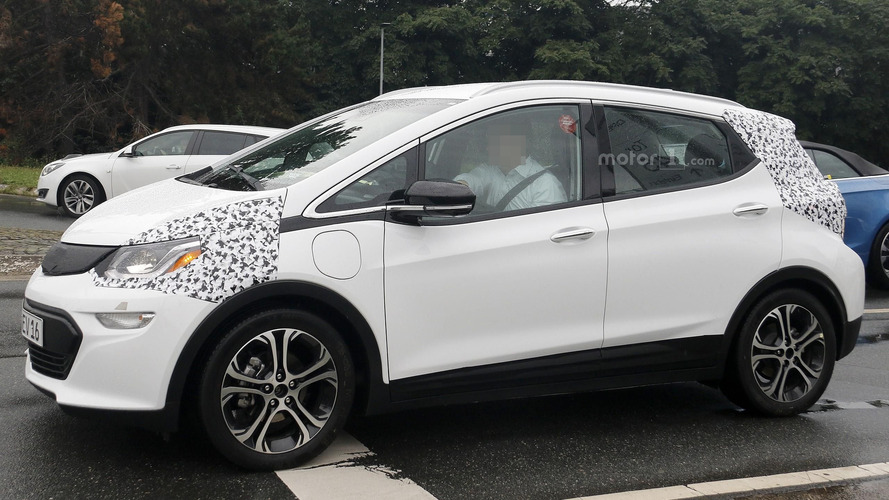 2017 Opel Ampera-e spy photos