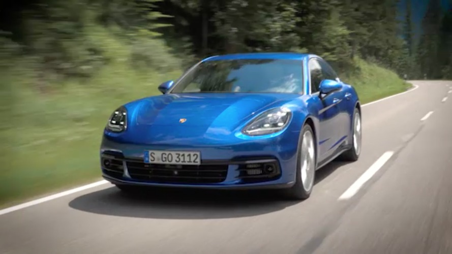Porsche's 20-minute video reveals all the 2017 Panamera's secrets