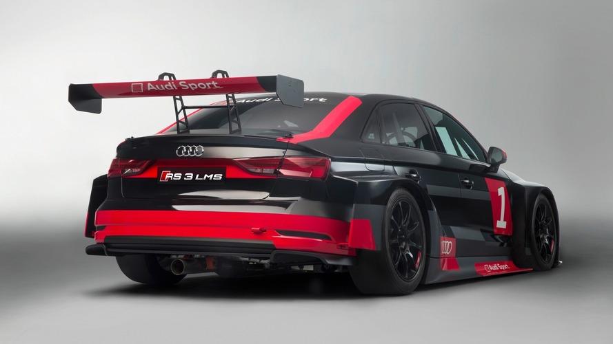 Audi RS3, RS5 ve R8 yarış versiyonlarıyla birlikte pistte