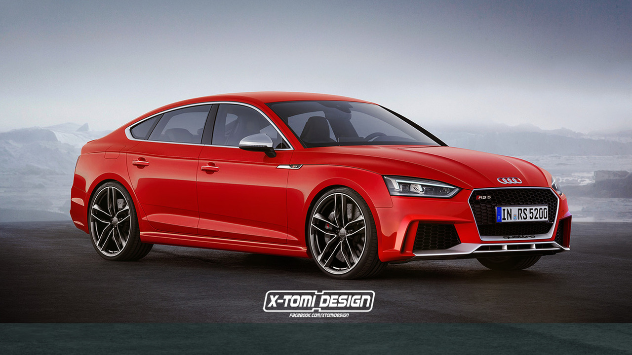 2018 Audi RS5 Sportback render by X-Tomi Design