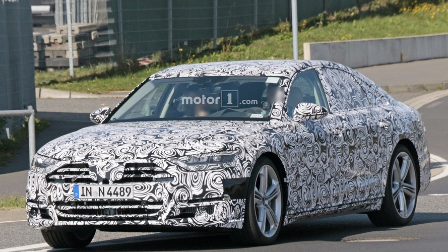Photos espion Audi S8 (2018)