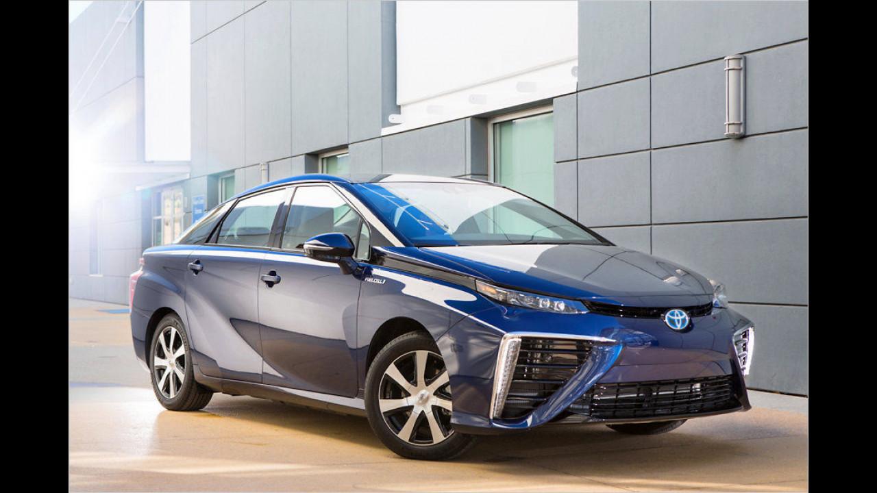 Toyota Mirai: Platz 1 ,World Green Car of the Year