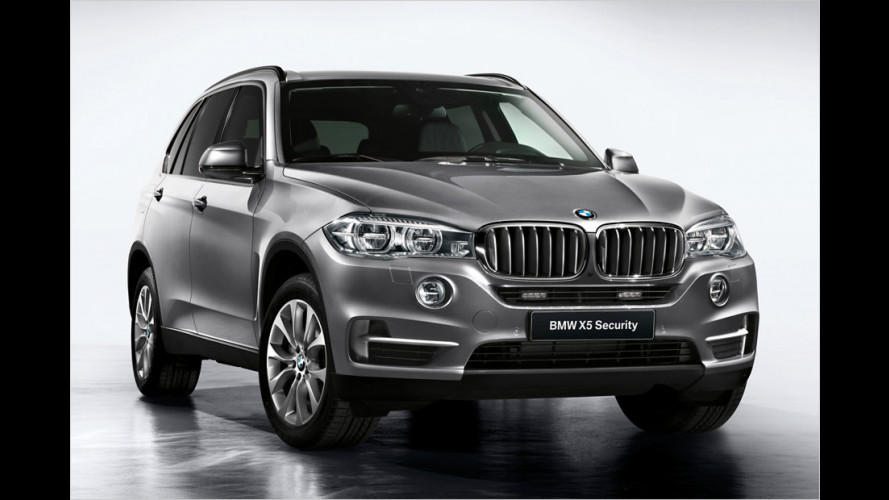 BMW X5 Security Plus: Sicher im SUV