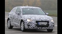 Neuer Audi A3 erwischt