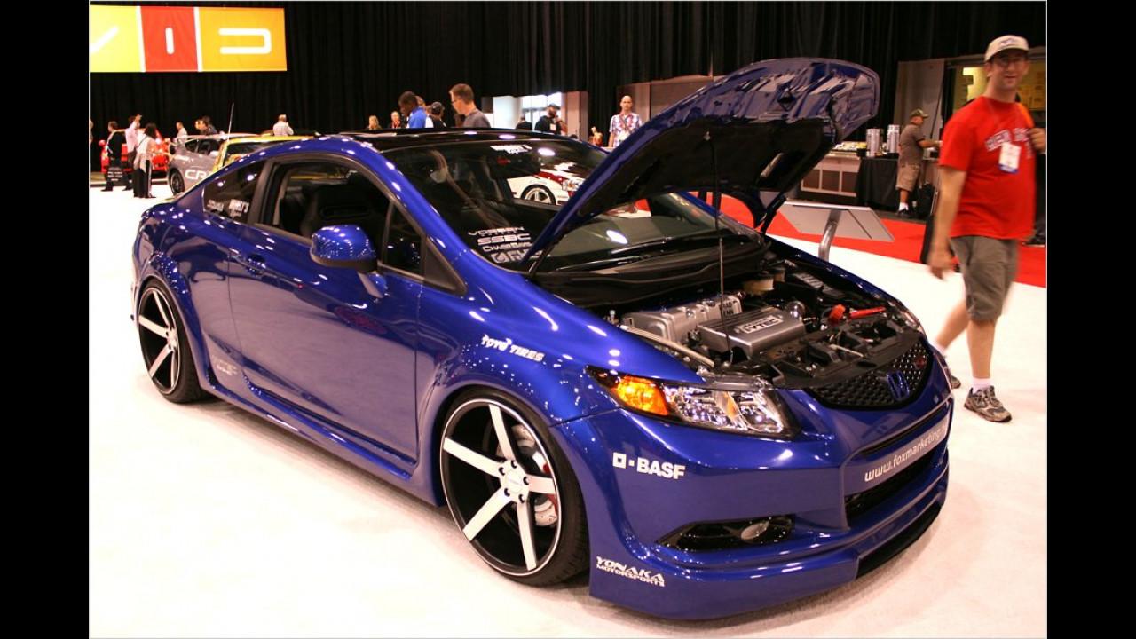 Honda Civic Si Coupé Fox Marketing