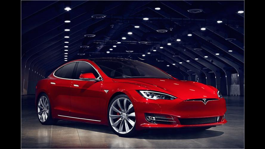 Facelift für das Tesla Model S