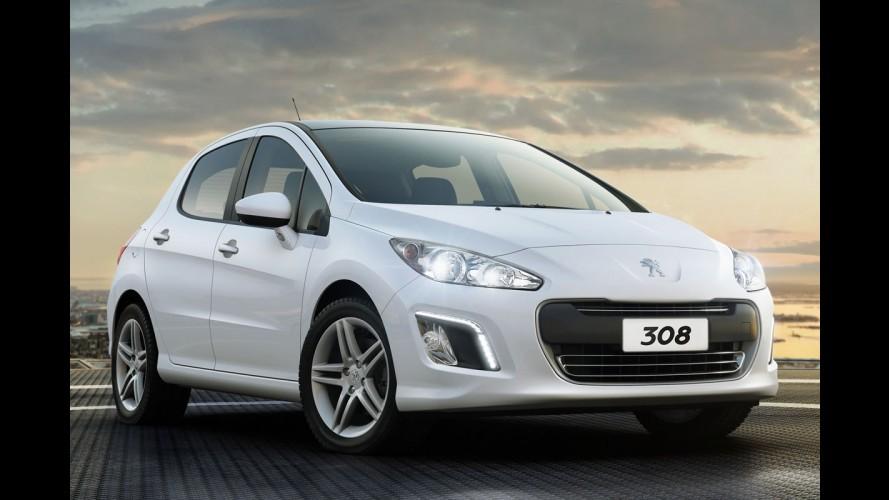 Peugeot mostrará 308 equipado com motor 1.6 THP no Salão do Automóvel