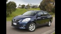 Outro nível: Nissan Almera (Versa) é lançado na Austrália