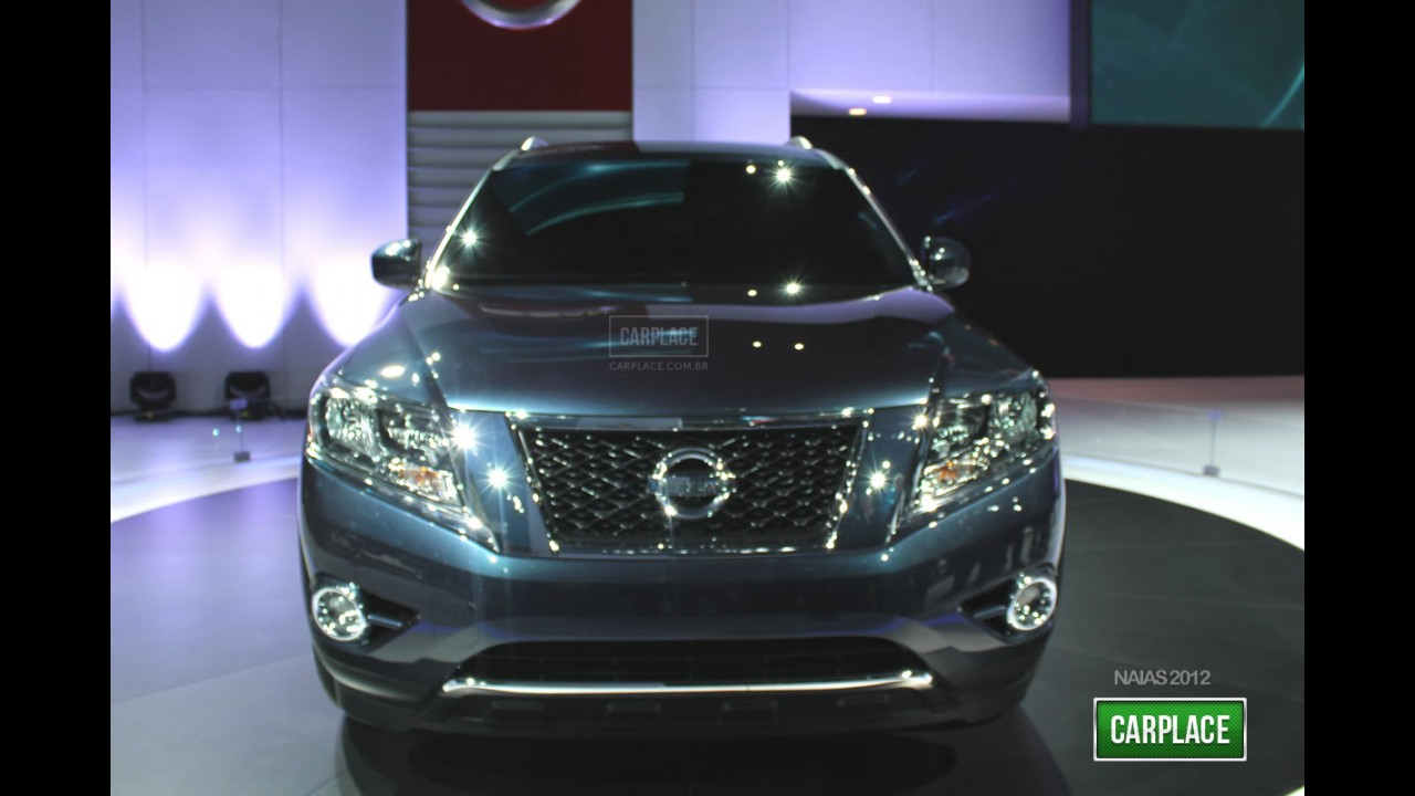 Salão de Detroit: Fotos do Nissan Pathfinder Concept