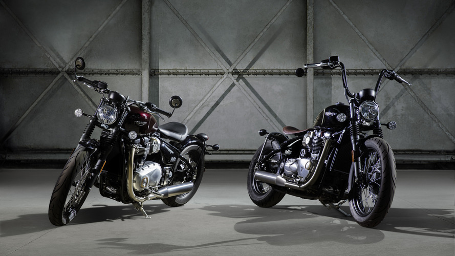 Triumph Bobber tanıtıldı